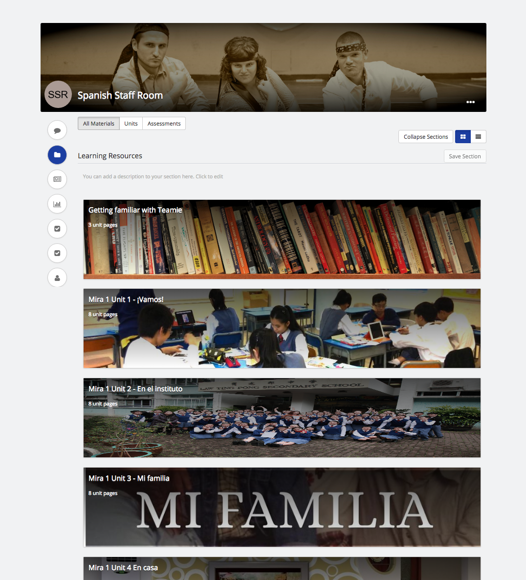 LTPSS Teamie Collaborative Online Learning Portal