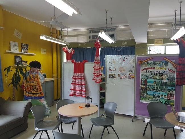 Spanish Classroom Restaurante