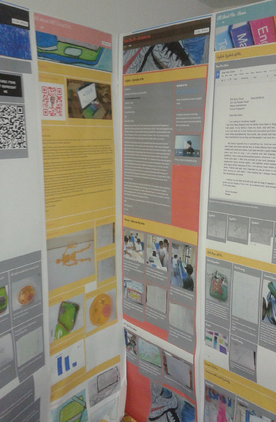 Teamie LMS's Stories feature used in Exhibition