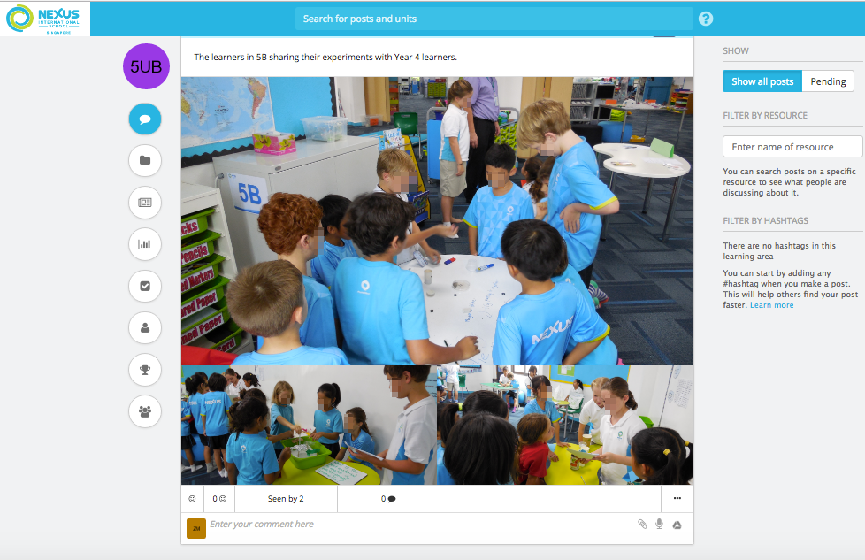Using Teamie Learning Management System in PYP Classroom